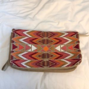 Lucky Brand Colorful Clutch